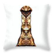 Kung Fu Cat Throw Pillow