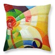 Kupka's Untitled Throw Pillow