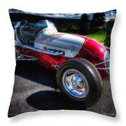 Kurtis Kraft Racer Throw Pillow