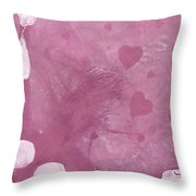 L 1st Letter In Love Series Throw Pillow