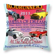 L C Rodrunner Car Show Poster Throw Pillow