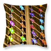 L E D Array 3 Throw Pillow