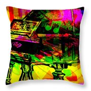 Mood Changing Medicine Power Of Music Throw Pillow