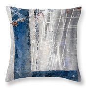 L In The Water Throw Pillow by Carol Leigh