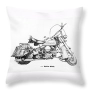 Hydra Glide Throw Pillow