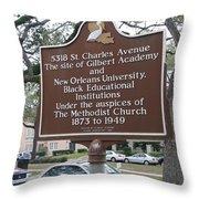 La-005 5318 St. Charles Avenue Throw Pillow
