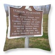 La-020 Fashion Plantation Throw Pillow