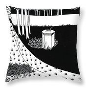 La Beale Isoud At Joyous Gard Throw Pillow