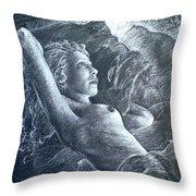 La Belle Reveuse Throw Pillow