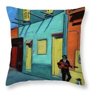 La Boca Morning II Throw Pillow