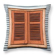 La Boca Shutter Throw Pillow