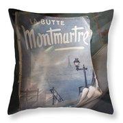 La Butte Throw Pillow