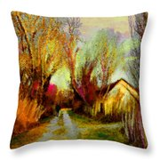 La Camargue 02 Throw Pillow