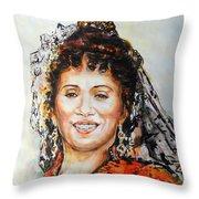 La Carmencita Throw Pillow
