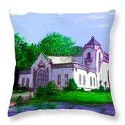 La Casa Grande Throw Pillow