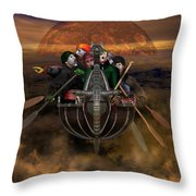 La Chasse-galerie 4 Throw Pillow
