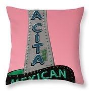 La Cita Throw Pillow