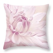 La Dahlia Throw Pillow by Angela Doelling AD DESIGN Photo and PhotoArt