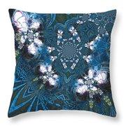 La Danse Des Papillons Throw Pillow