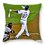 La Dodgers Matt Kemp Throw Pillow