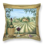 La Dolce Vita Throw Pillow by Marilyn Dunlap