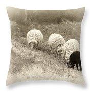 La Famiglia Throw Pillow