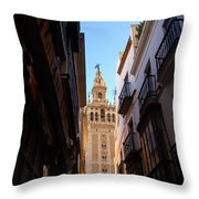 La Giralda - Seville Spain  Throw Pillow