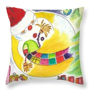 La Glissade / The Sliding Throw Pillow