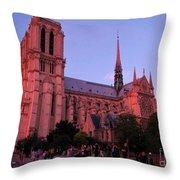 La Grand Dame Throw Pillow