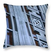La Griffith Observatory Entrance Throw Pillow