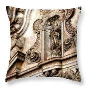 La Iglesia De La Compania  Quito Ecuador Throw Pillow