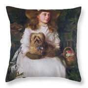 La Jeunesse, 1884 Throw Pillow