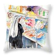 La Laguna Market 03 Throw Pillow