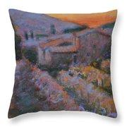 La Levata Del Sole Throw Pillow