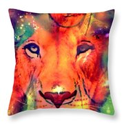 La Lionne Throw Pillow