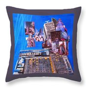 La Live Throw Pillow