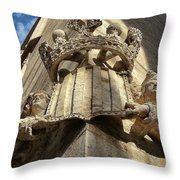 La Lonja Angels Throw Pillow