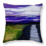 La Luna 7 Throw Pillow