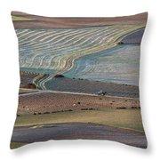 La Mancha Landscape - Spain Series-ocho Throw Pillow