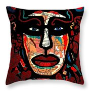 La Matadora Throw Pillow