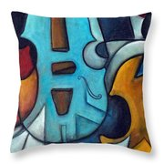 La Musique 2 Throw Pillow