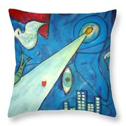 La Nuit  Throw Pillow
