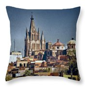 La Parroquia Throw Pillow