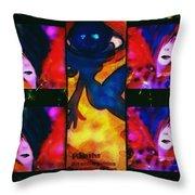 La Passion De L'art Throw Pillow