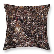 La Pastora Virgin Throw Pillow