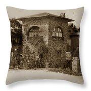 La Playa Carmel And Located At Camino Real At Eighth Ave. Circa  1925 Throw Pillow