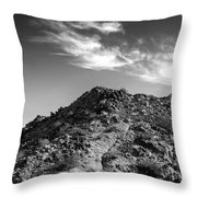La Quinta Early Morning Throw Pillow