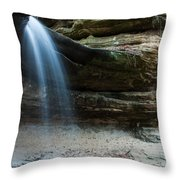 La Salle Falls Throw Pillow