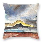 La Santa In Lanzarote 01 Throw Pillow