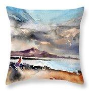 La Santa In Lanzarote 02 Throw Pillow